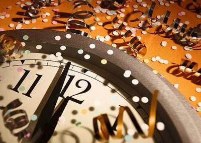 New Year's Clock