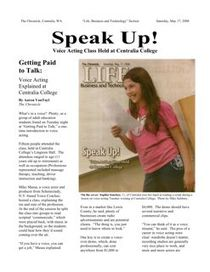 voice over class article