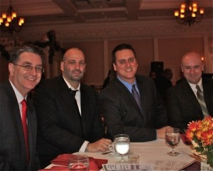 Team at Charity Dinner