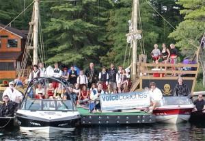 Voice Coaches boats