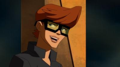 Robin in The Dark Knight Returns