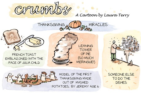 Crumbs Thanksgiving Cartoon