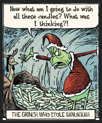 Grinch Hanukkah cartoon